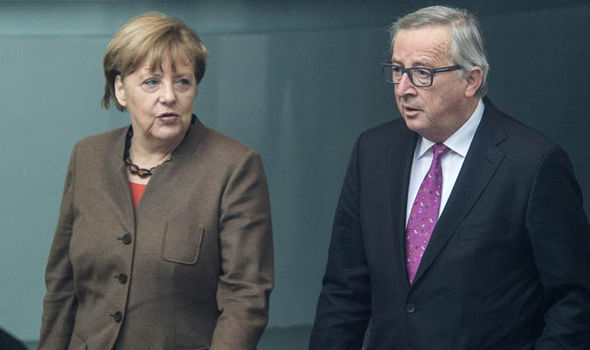 Juncker has backed Merkel's comments