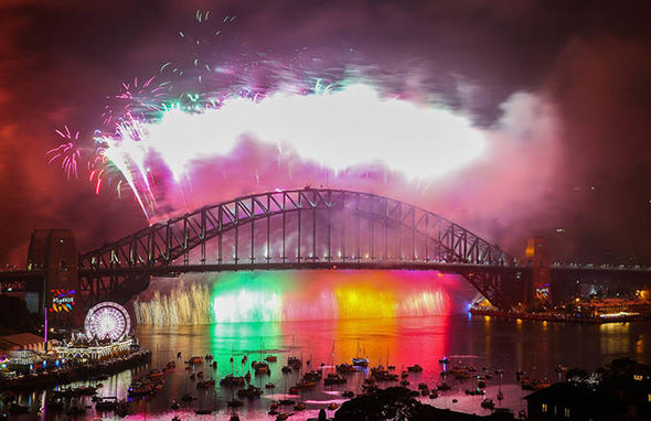 New Year's Eve celebrations in Sydney, Australia
