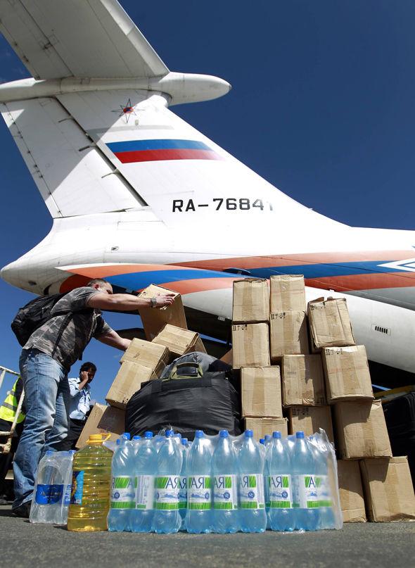Aid arriving in Yemen