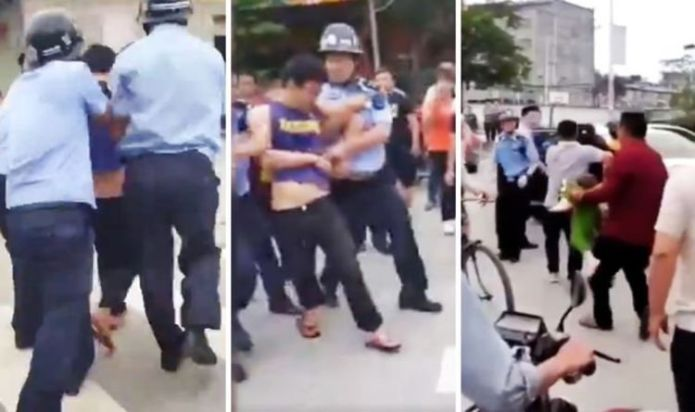 China school attack: Knifeman injures 16 children and two teachers in stabbing spree