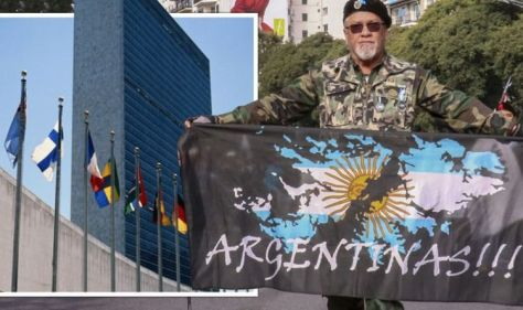 They won't give up! Desperate Argentina to beg UN to intervene in Falkland Islands row