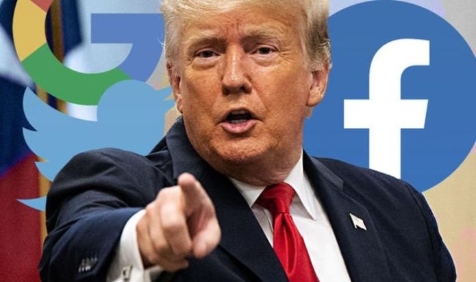 Donald Trump to sue Facebook, Twitter and Google - Former US President claiming 'bias'