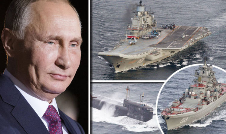 Image result for the russian navy strike group, putin's navy