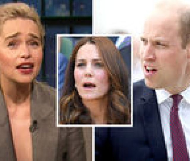Game Of Thrones Emilia Clarke Speaks Of Moment With Prince William