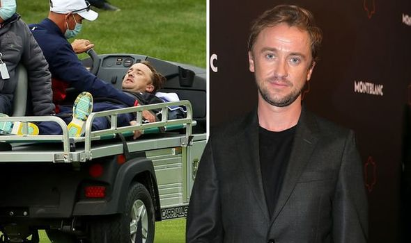 Tom Felton's pal issues update on his health after 'collapse' at Ryder Cup sparks concerns