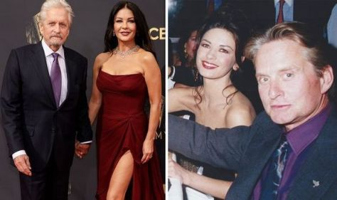 Michael Douglas stuns fans with romantic snap from first encounter with now-wife Catherine