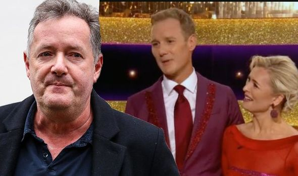 'Very disappointing' Piers Morgan takes aim at TV rival Dan Walker's Strictly performance
