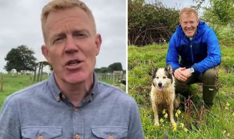 Countryfile host Adam Henson talks being left with a 'heavy heart' after holiday with wife