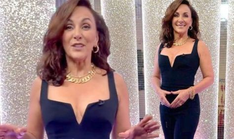Shirley Ballas sparks frenzy in boob-baring Strictly look as fan fears she may 'pop out'