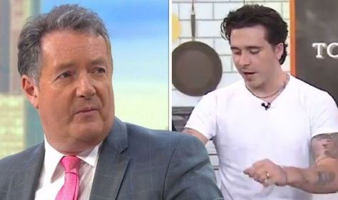 Piers Morgan takes swipe at Brooklyn Beckham for 'unutterably pointless' TV appearance