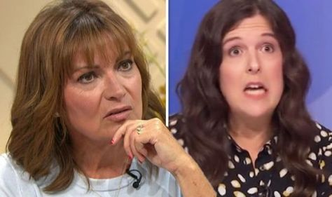 'B*****s' Lorraine Kelly fumes at vile abuse Rosie Jones subjected to after Question Time