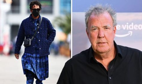 'There are people who like it?' Lewis Hamilton mocked by Jeremy Clarkson for kilt outfit