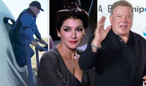 'Facing final frontier' Star Trek's Marina Sirtis reacts to William Shatner soar to space