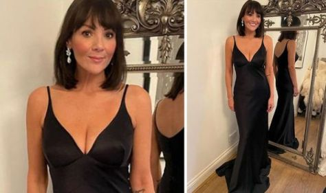 Martine McCutcheon, 45, stuns fans with ageless beauty in busty figure-hugging black dress