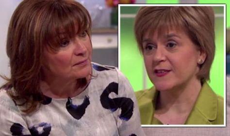 Lorraine Kelly's brutal reminder to Nicola Sturgeon about referendum: 'You lost!'