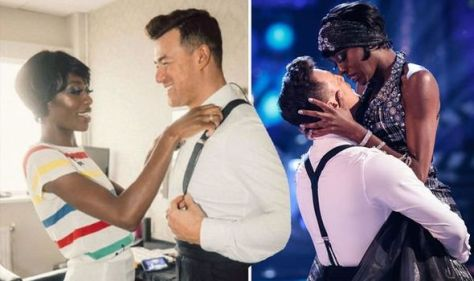 'The look of love' Strictly's AJ and Kai spark frenzy in backstage pic amid romance claims