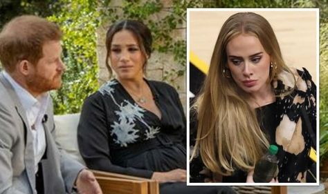 Adele 'set to follow in Meghan and Harry's footsteps' in tell-all Oprah Winfrey interview