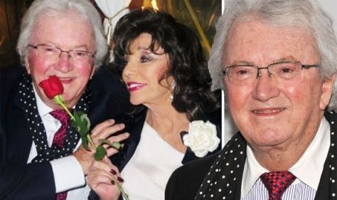 Leslie Bricusse dead: Joan Collins shares emotional post after Willy Wonka songwriter dies