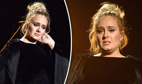 Adele restarted her tribute to George Michael