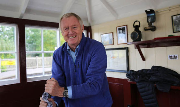 Chris Tarrant in The Railways that built Britain