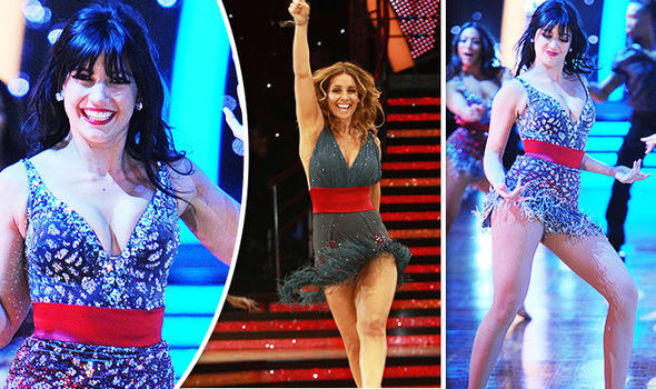 Daisy Lowe and Louise Redknapp Strictly Tour