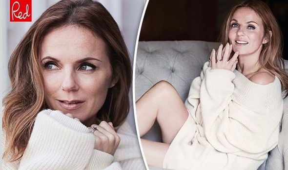 Geri Horner opened up about her fertility issues