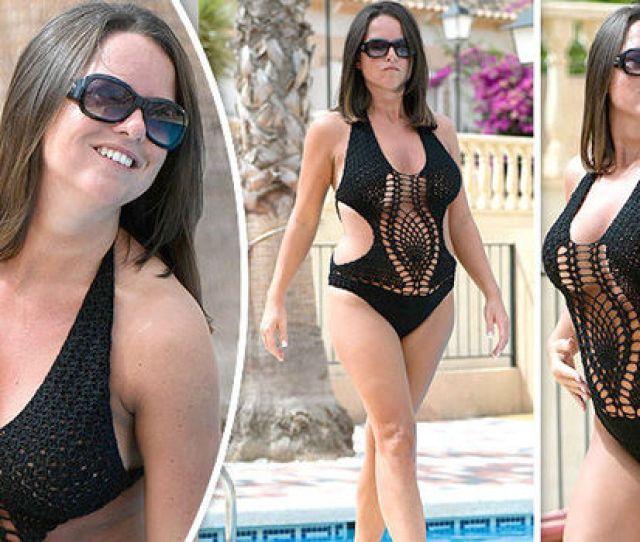 Karen Danczuk Simon Danczuk Bikini Swimsuit Spain Instagram