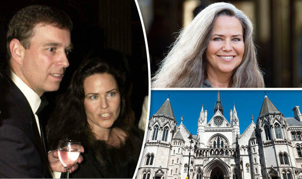Prince Andrew & Koo Stark, High Court
