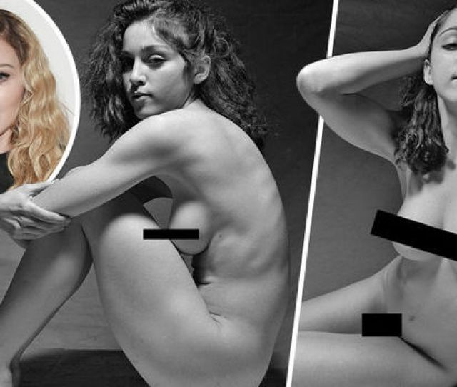 Madonna Poses In Lost Nude Photo Shoot