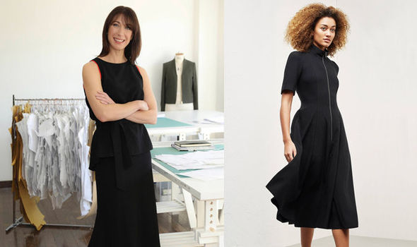 Samantha Cameron has launched her first fashion collection called Cefinn