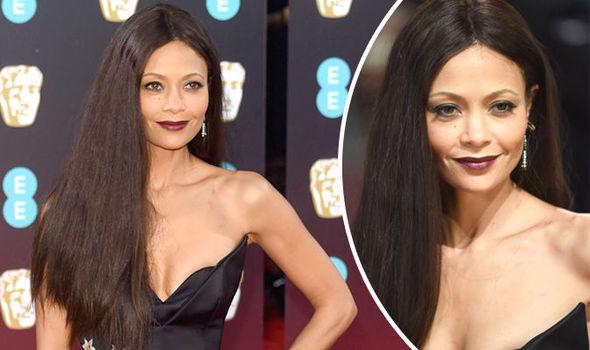 Thandie Newton dazzles on the BAFTAs 2017 red carpet