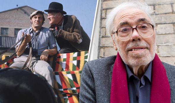 Steptoe and son writer Alan Simpson has died aged 87