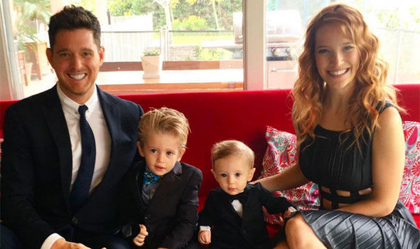 The sister-in-law of Michael Buble has insisted that his son Noah is 'doing well'