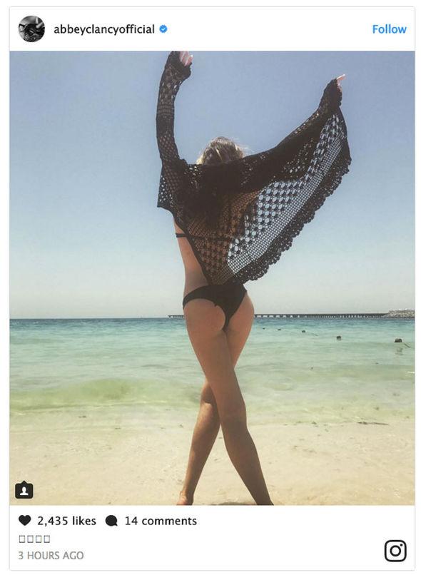 Abbey Clancy bikini sexy Instagram model