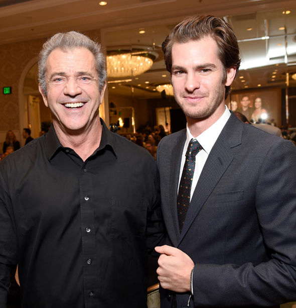 Andrew Garfield didn't always appreciate Mel Gibson's silly side