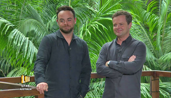 Ant McPartlin I'm A Celebrity Get Me Out Of Here