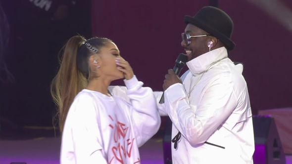 Ariana and Will.i.am