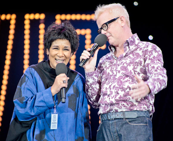 BBC News Moira Stuart Chris Evans Radio 2 alcohol