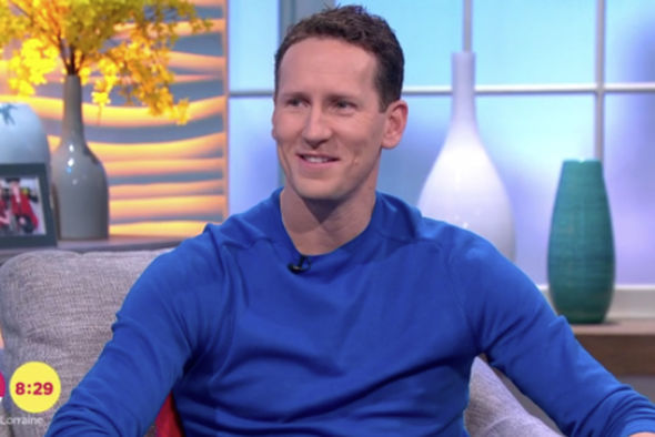 Brendan Cole appeared visibly emotional during his interview with Lorraine