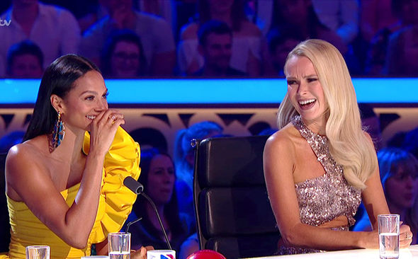 Britain's Got Talent 2017 Amanda Holden dress complaints Simon Cowell