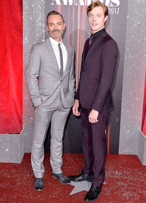 British Soap Awards 2017 Coronation Street Rob Mallard Daniel Brocklebank couple