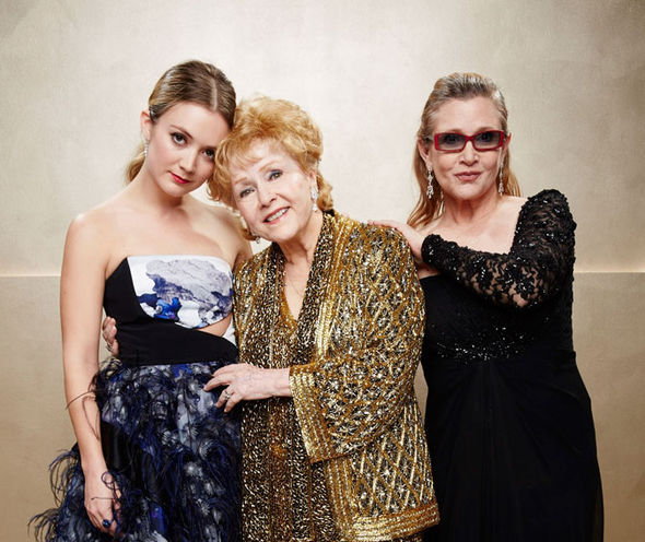 Carrie Fisher daughter Billie Lourd Debbie