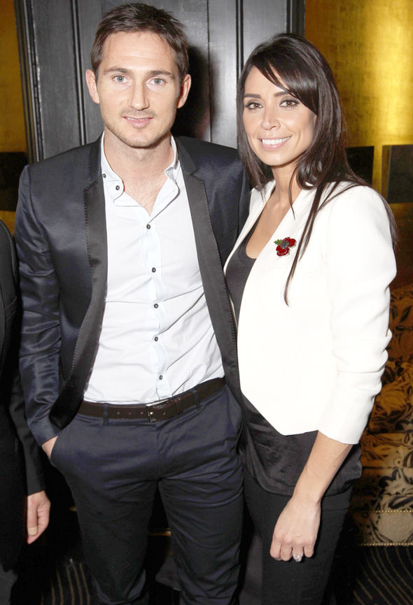 Christine Bleakley Frank Lampard baby children wedding