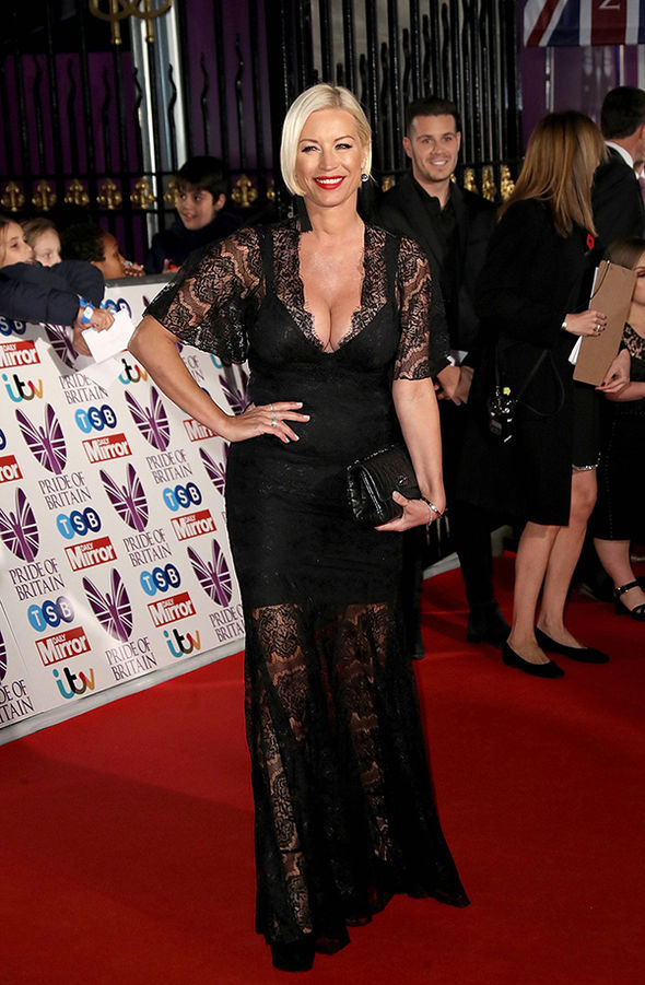 Denise Van Outen looked sensational