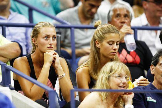 Dominic Thiem girlfriend Kristina Mladenovic emotional as ...