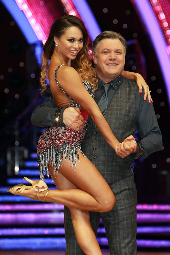 Ed Balls kicked face Strictly Come Dancing live