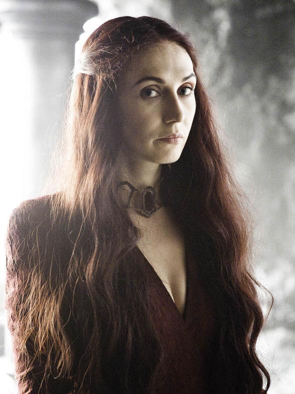 Carice van Houten plays Melisandre in Game of Thrones