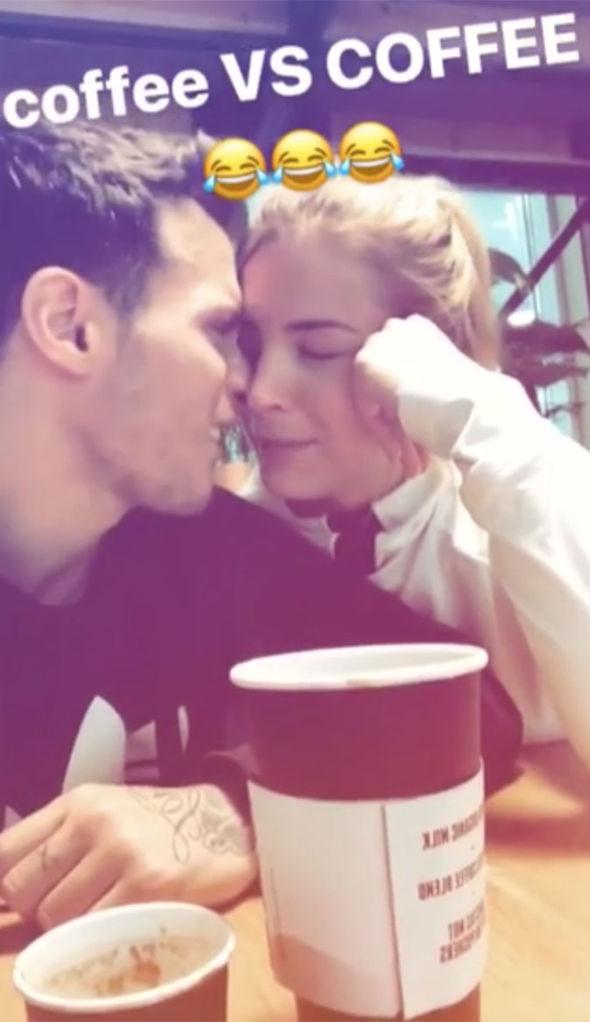 Gemma Atkinson Instagram: Gorka Marquez cosying up with her
