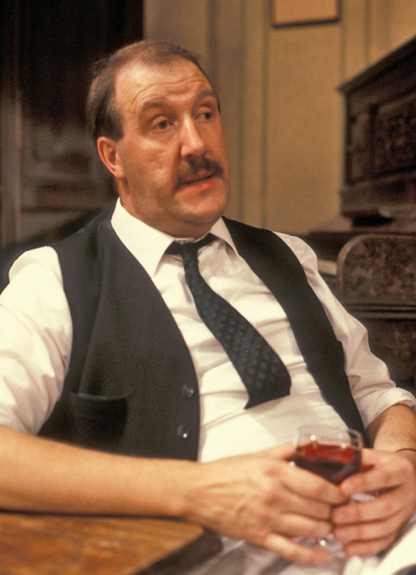 Gorden Kaye died on Monday January 23, 2017