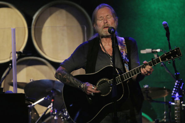 Gregg Allman performs in New York